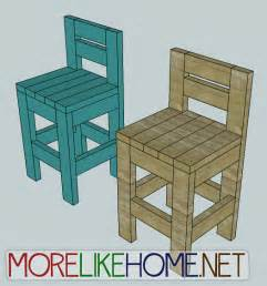 How To Make A Bar Stool Out Of Wood More Like Home Day 23 Build A Chunky Bar Stool
