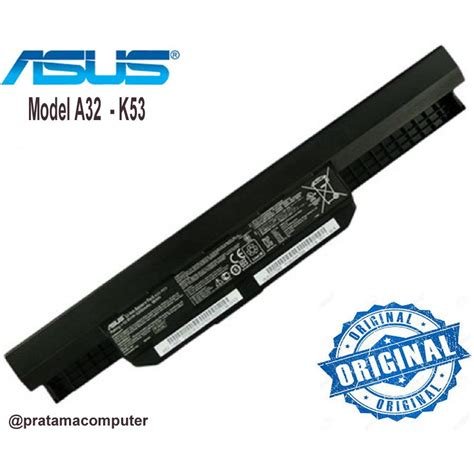 Baterai Laptop Asus A43jb Original baterai laptop asus a43 a53 k43 k53 x43 x44 series model