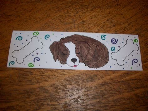 printable puppy bookmarks printable puppy bookmarks to color workin with kids