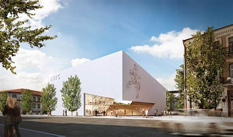 Drawing Center by Daniel Libeskind Unveils Design For The New Green Roofed