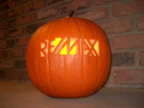 re max carved pumpkin halloween real estate pinterest