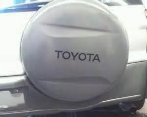 Toyota Rav4 Tire Cover 07 08 09 Toyota Rav4 Rav 4 Spare Tire Cover Cap New 2007