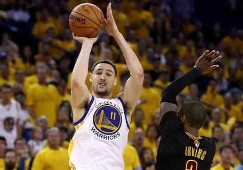 klay thompson nba finals steph curry but emulate klay thompson si