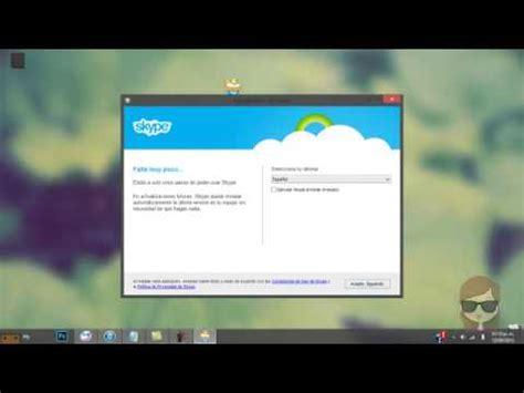 skype para escritorio de windows 8 como descargar skype de escritorio para windows 8