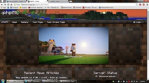 mod game site phpmc custom minecraft website script minecraft mod