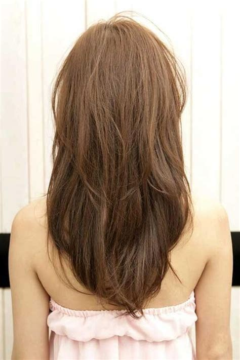 shaping long hair 15 best ideas of long hairstyles v shape at back