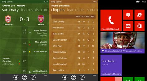 bing sports bing sports gets a super update just in time for the big
