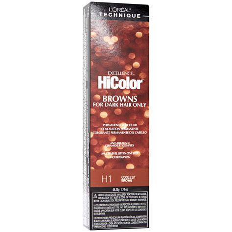 loreal hicolor colors l oreal excellence hicolor permanent creme hair color