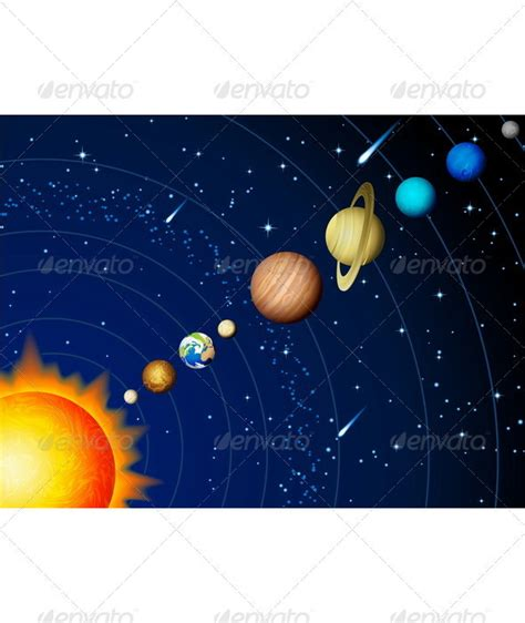 Solar system unlabeled black and white ccuart Choice Image