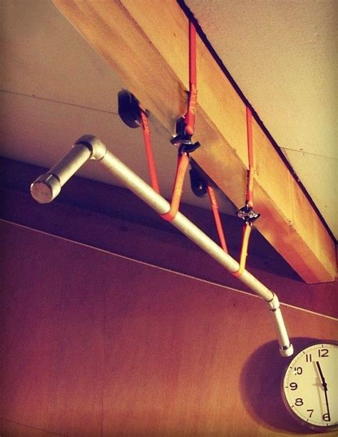 Diy Pull Up Bar Ceiling by 17 Best Images About Ceiling Mounted Joist Beam Pull Up