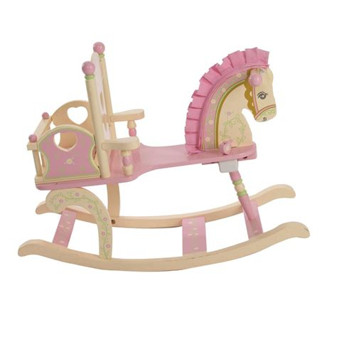 rocking for toddler 12 beautiful wooden rocking horses for