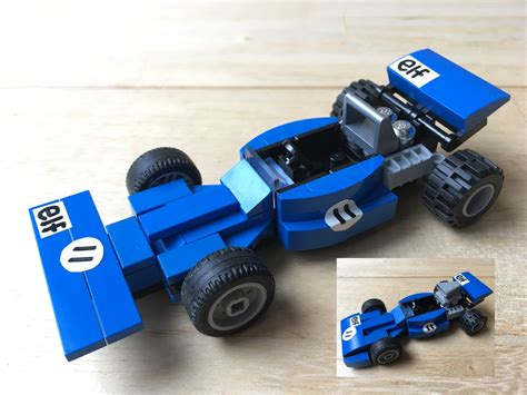 lego ideas product ideas tyrrell f1 001 series 1970s