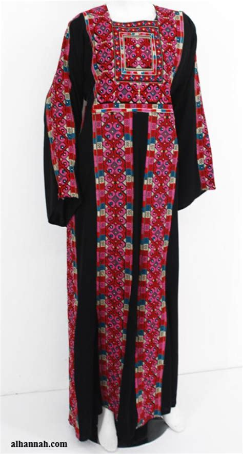 Dress Firdaus by Firdaus Deluxe Embroidered Palestinian Fellaha Dress Th754