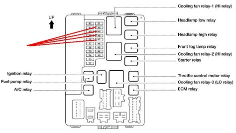 2007 nissan maxima headlight wiring diagram 2007