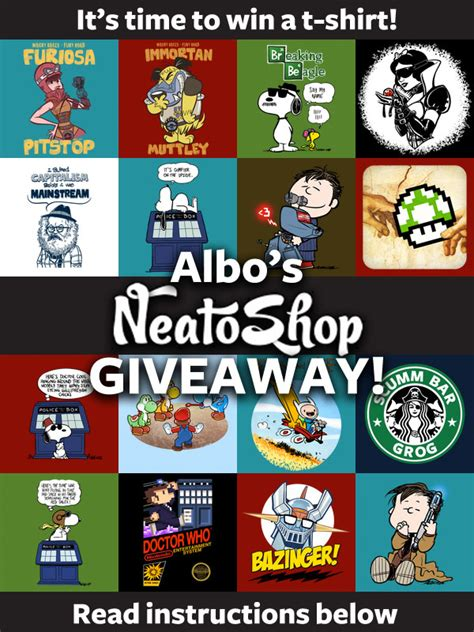 T Shirt Giveaway On Facebook - t shirt giveaway by albonet on deviantart