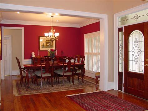 Red Dining Rooms by Best 25 Red Dining Rooms Ideas On Pinterest Long Walls