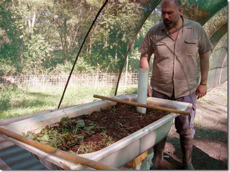 bathtub worm farm permaculture pilgrimage zaytuna farm