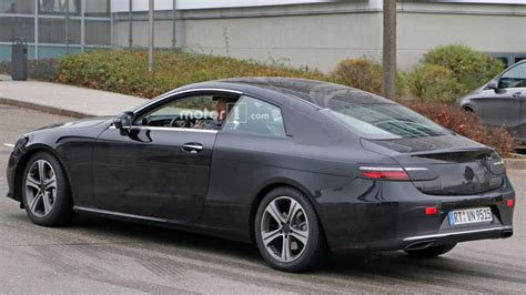 750 Meters To Feet by 2018 Mercedes E Class Coupe Caught Performing Final Testing