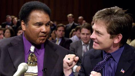 michael j fox good fight michael j fox remembers having muhammad ali in his corner
