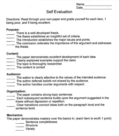 self evaluation template for employees 16 sle employee self evaluation form pdf word