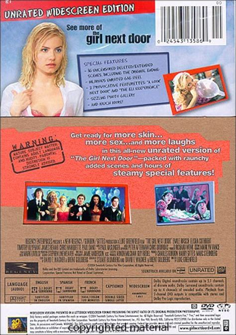 film romance unrated the girl next door unrated 2004