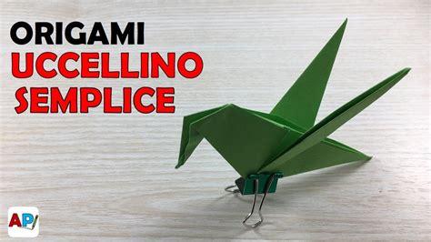 Come Fare Un Uccellino Di Carta by Tuto Origami Noeud