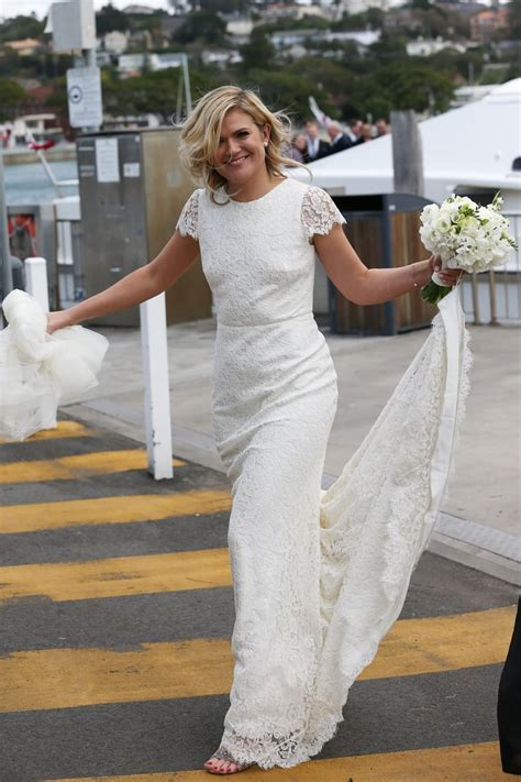 TV Host Sarah Harris Marries Tom Ward In Sydney   POPSUGAR