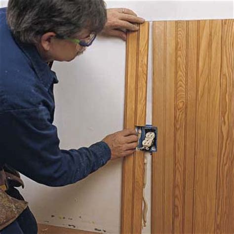 how to cut beadboard cut around electrical outlets how to install beadboard