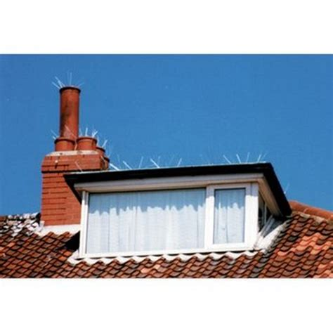 T2b Shopping Flat Frustration Ends by Chimney Spike Pigeon Seagull Bird Proofing Netting