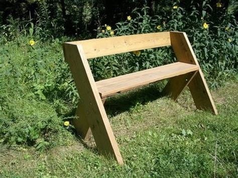 easy bench design outdoor bench with back simple outdoor wood bench plans