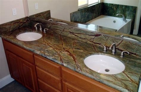 green granite bathroom countertops rainforest green granite rainforest green marble vanity bath ideas green