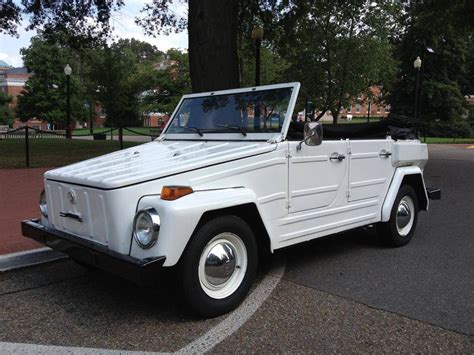 1974 volkswagen thing 1974 volkswagen thing convertible softop safari