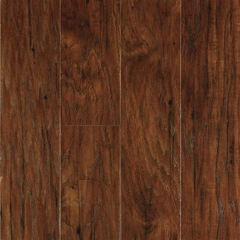 Laminate Flooring Planks Shop Allen Roth Toasted Chestnut Wood Planks Laminate Flooring Sle At Lowes