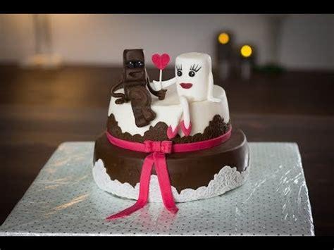 Hochzeitstorte Kinderriegel by Hochzeitstorte Aus Kinderschokolade Werbung Motivtorte