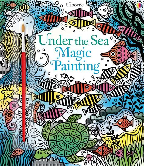 Usborne Jungle Magic Painting Book the sea magic painting at usborne children s books