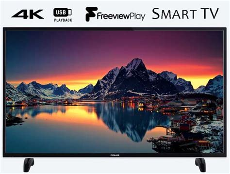 finlux 55 inch 4k ultra hd smart led tv with freeview play - Led Fußleiste