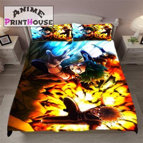 My Academia Set 1 my academia blanket bed set covers anime print house