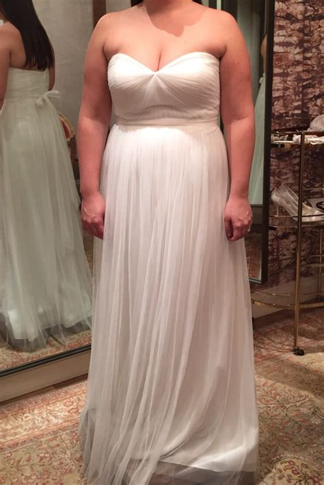 Wed To Be Dresses by Yoo Annabelle Size 16 Wedding Dress Oncewed