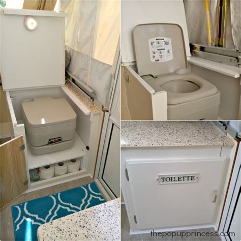 Pop Up Cers With Shower And Toilet by Shannon S Pop Up Cer Makeover The Pop Up Princess