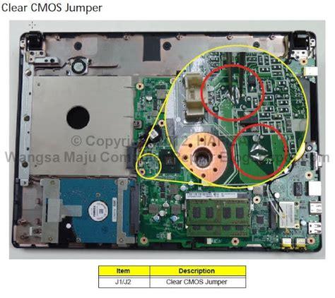 bios reset jumper acer laptop wangsa maju computer repair tips reset password bios