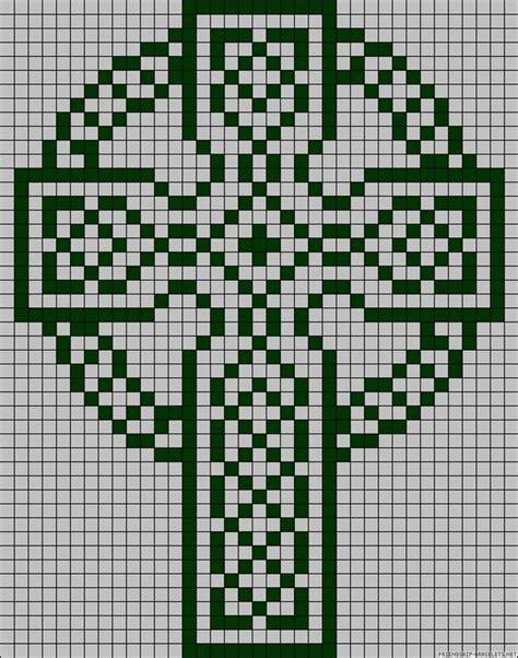 grid pattern for cross stitch celtic cross grid pattern filet crochet crochet