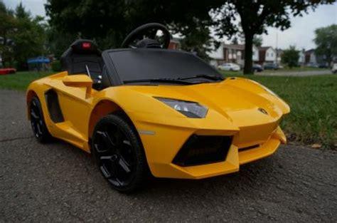 Lamborghini Aventador Power Wheels Lamborghini Aventador New Electric Power Wheels Ride On