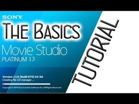 Sony Movie Studio 13 Platinum Suite Tutorial For Be Doovi Sony Studio Platinum 13 Templates