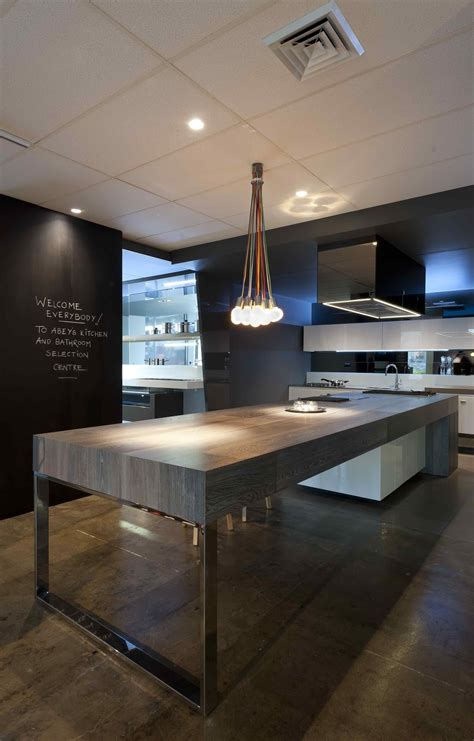 contemporary kitchen island minosa the cooks kitchen in south melbourne by minosa