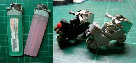 cara membuat mainan motor gp dari barang bekas membuat moto gp dari bekas korek gas