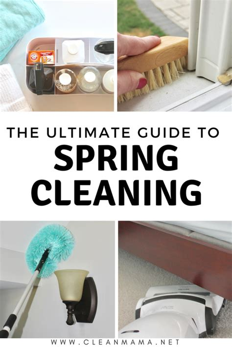 the ultimate spring cleaning guide bonus spring cleaning the ultimate guide to spring cleaning clean mama