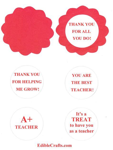 printable gift tags teacher appreciation 9 best images of free printable teacher appreciation candy