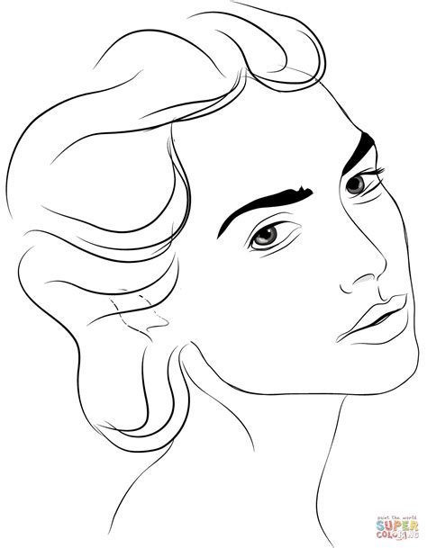 cinderella coloring pages face coloring page