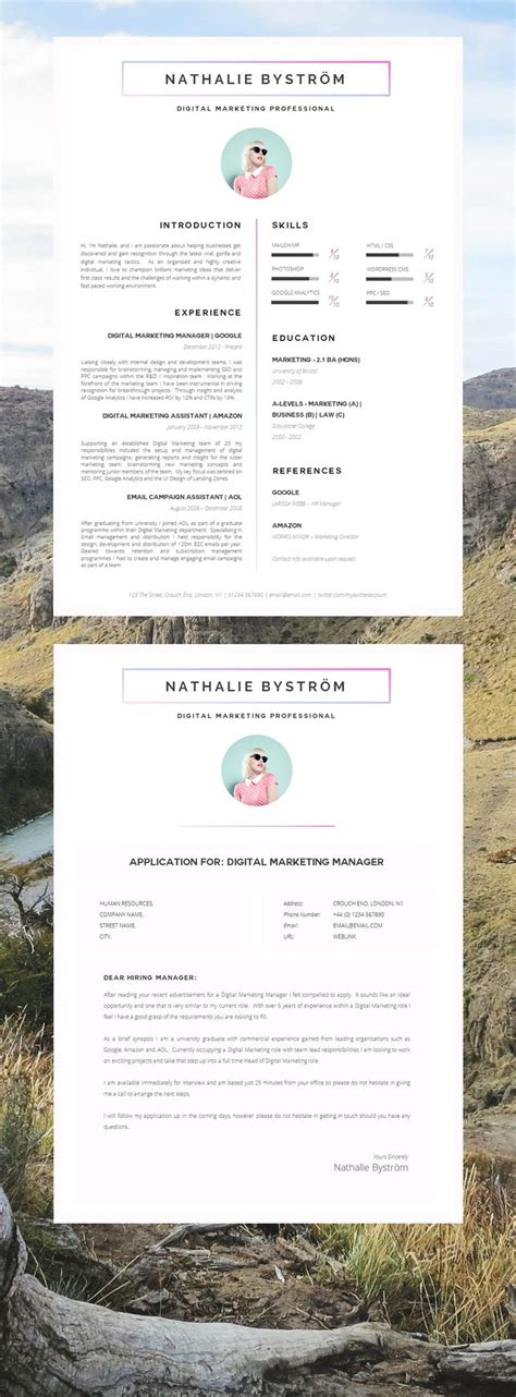 Cv Sjabloon Apple 25 beste idee 235 n creative cv template op