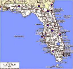 florida vacation map florida vacation destinations map